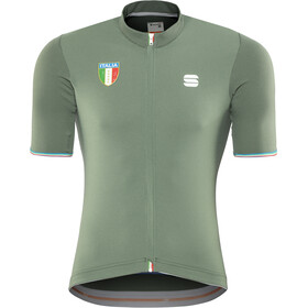 Sportful Italia CL Maillot de cyclisme Homme, dry green